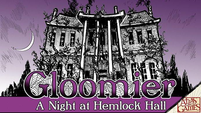 Announcing Gloomier: A Night at Hemlock Hall on Kickstarter