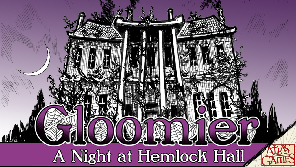 Announcing Gloomier: A Night at Hemlock Hall on Kickstarter