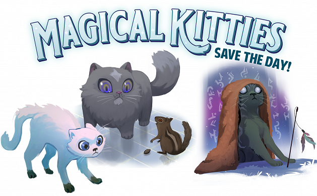 Magical Kitties Encourage New-GM Parents
