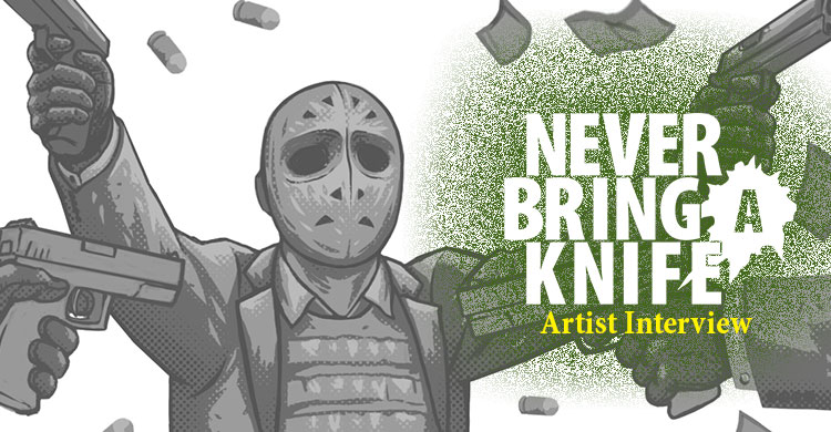 Guns, Art, and Money: An Interview with James Mosingo, the Illustrator for Never Bring a Knife