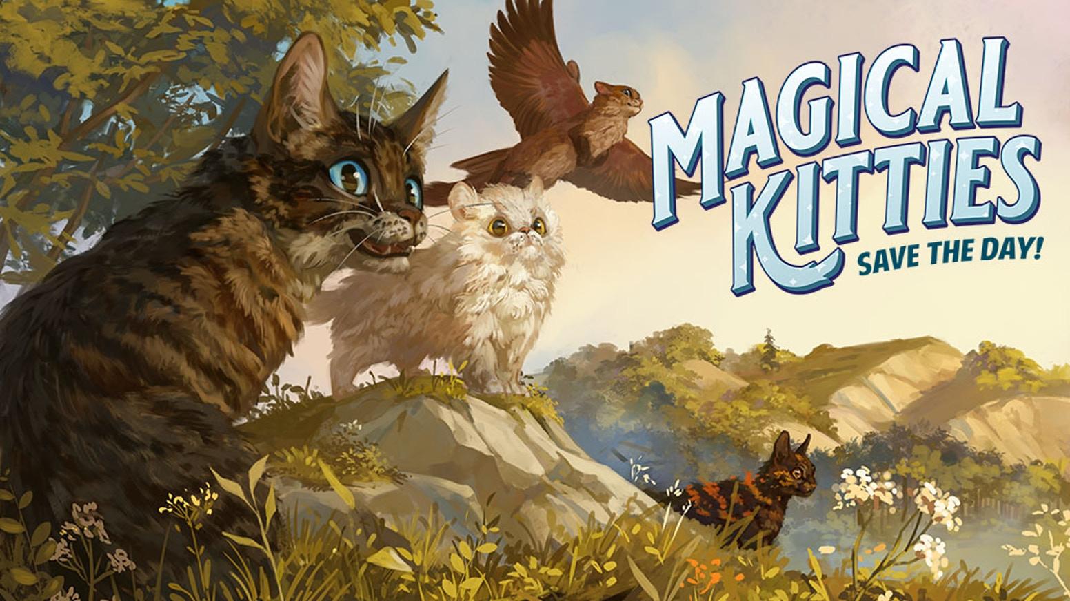 Magical Kitties Art Banner