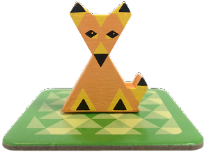 Hounded Fox meeple