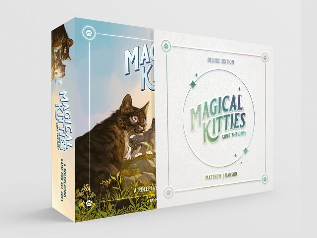 Magical Kitties Deluxe 3d box