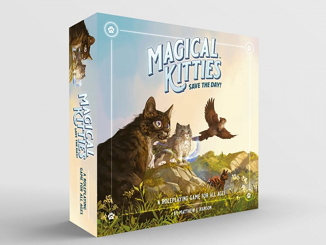 Magical Kitties Standard 3d box