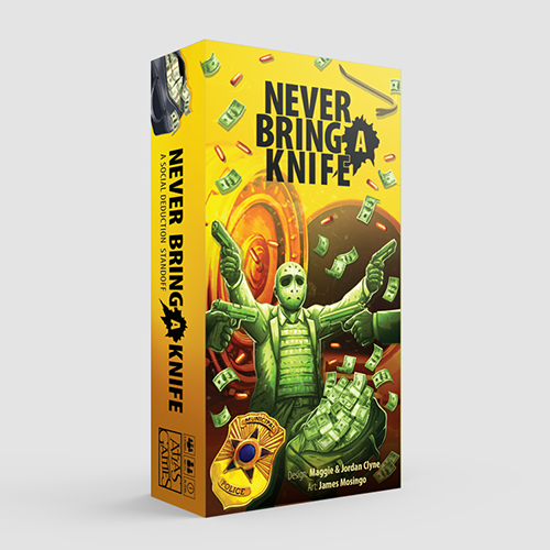 NBAK Never Bring a Knife 3D THUMB